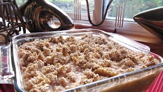 Apple Crumble Recipe With Rhubarb