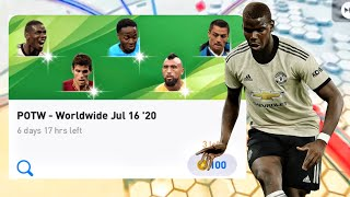 POTW - Worldwide Jul 16 '20 Pack Opening - Pes 2020 Mobile