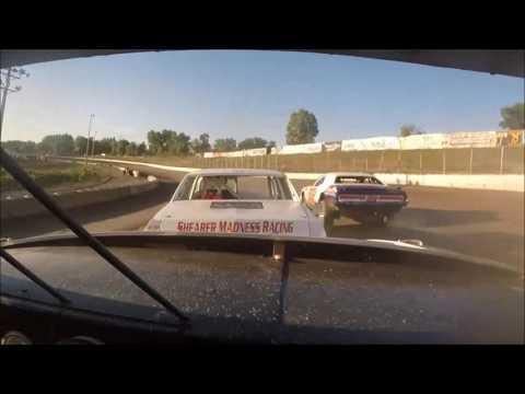 7/22/16 Black Hills Speedway Thunder Stock Heat Race John Garrigan Jr