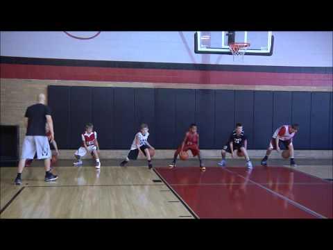 Stationary Ball Handling Warmup