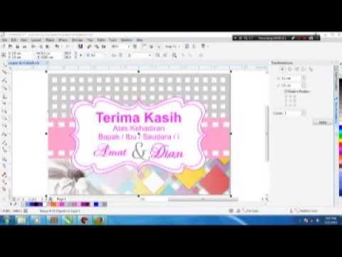 Design Ucapan Terima Kasih Cantik Untuk Pernikahan Youtube