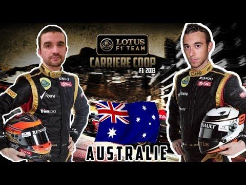 F1 2013 - Grand Prix d'Australie [Carrière coop' 25%]