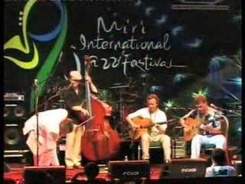 My Blue Heaven by the George Washingmachine Quartet at Miri Int Jazz Fest Malaysia