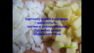 Видео рецепты - салат из печени трески