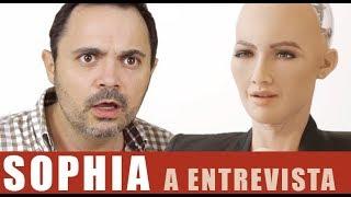 Entrevista CHOCANTE à robô SOPHIA...