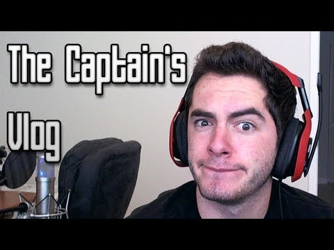 The Captain's Vlog: Murphy's Law and Charity Stuff