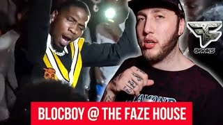 Blocboy JB parties with Faze Banks! House Party Vlog