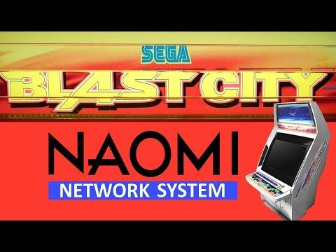 Sega Blast City Arcade w/ Naomi 2 NetBoot Setup