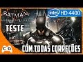 Batman: Arkham Knight Gameplay Intel HD Graphics 4400 - Teste com os Updates #249