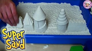 Super Sand Giant - cooler als Knetmasse - Sands Alive! unboxing und Test