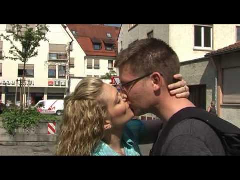 Welttag des Kusses: So zärtlich küsst Ulm