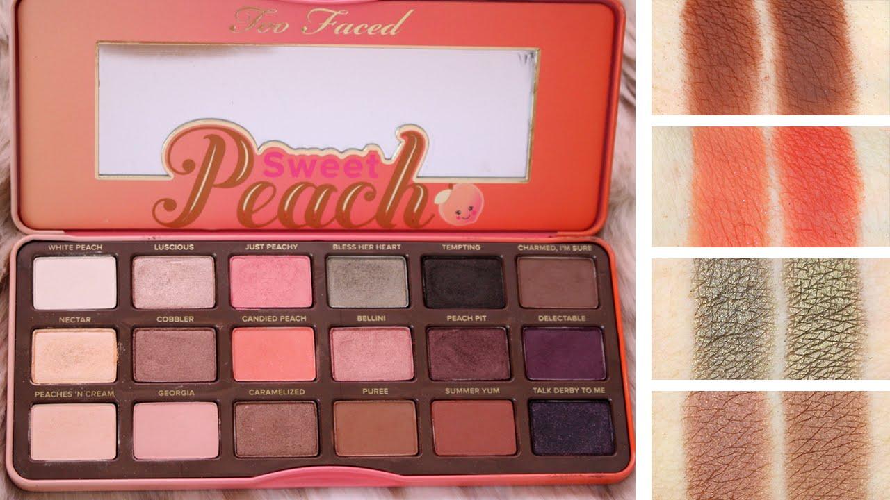 sweet peach palette # 16