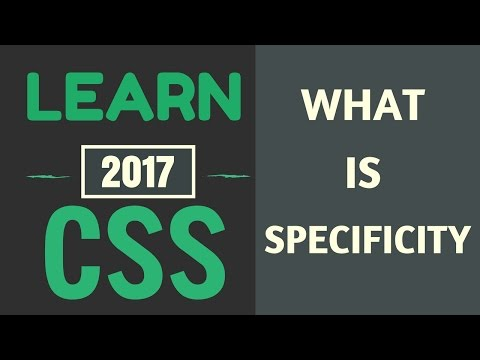 Learn CSS #3: What is Specificity and Cascade?