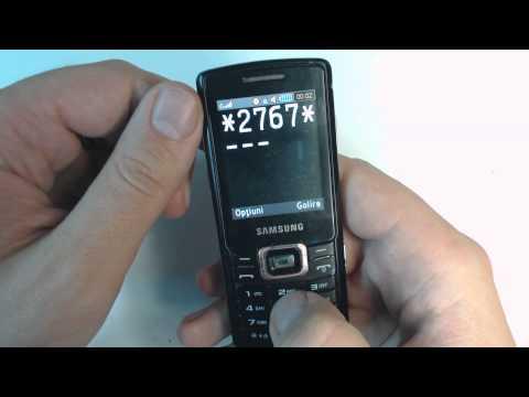 Samsung C5212i factory reset