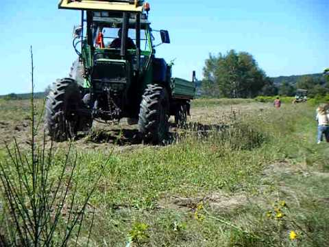traktor mit anh nger r ckw rts zu fahren versuch 1 2 3 4 youtube. Black Bedroom Furniture Sets. Home Design Ideas