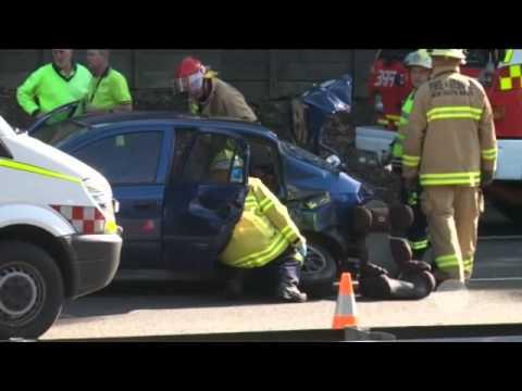 Car seat saves life