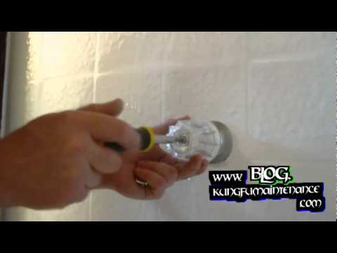 Great How To Replace Handles ~ Hot And Cold Tub Or Shower Compresion Style