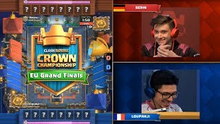 [Grand Finals] Berin Vs Loupanji | Clash Royale Crown Championship EU Fall 2017 Finals HD