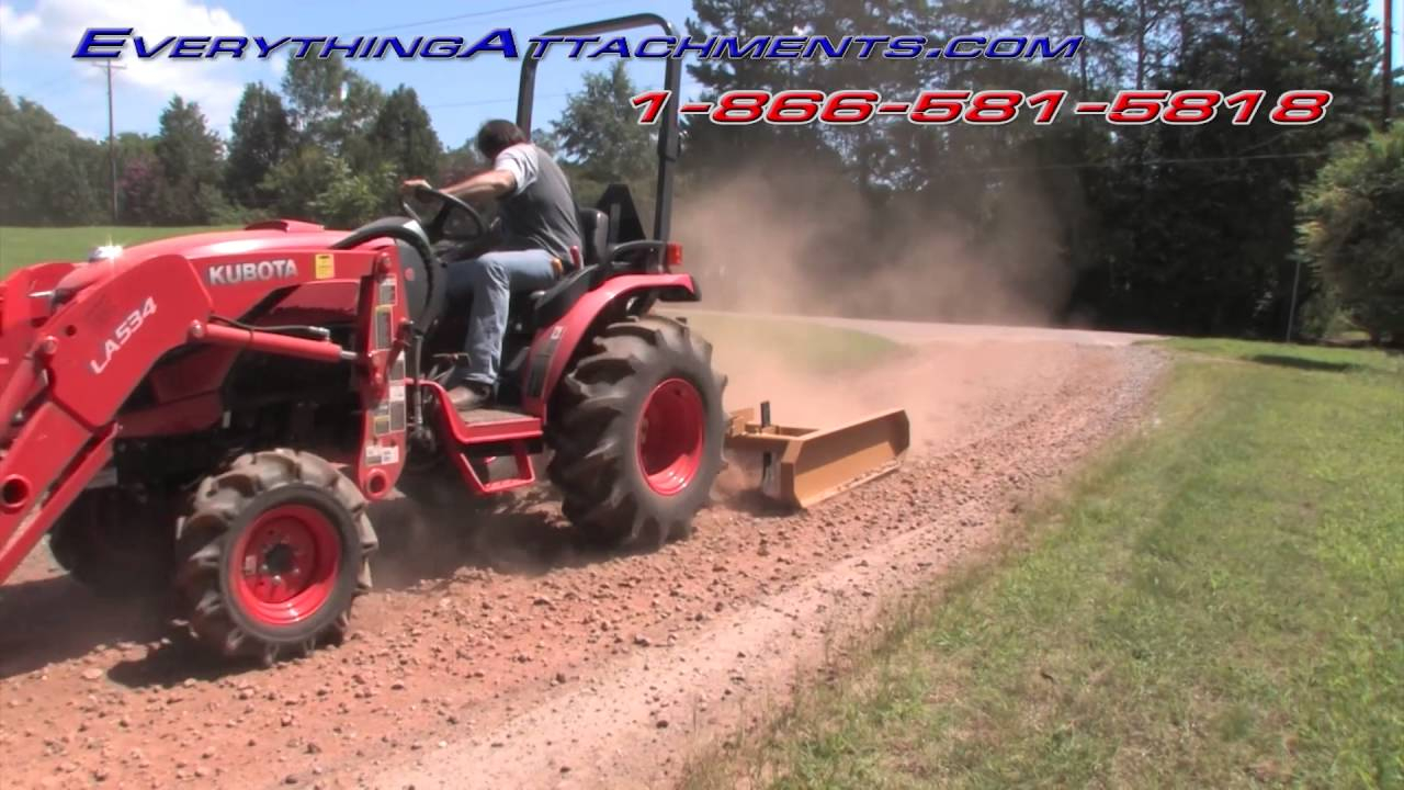 How To Use A Land Leveler Part 2