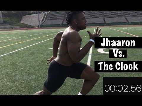 Jhaarron vs. The Clock | Pro Limit Athletes Pro Day