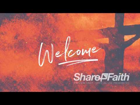 Good Good Father! Welcome Easter Video For Church & Worship