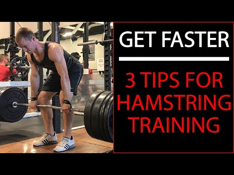 3 Tips For Hamstring Training | Hamstring Training For Sprinters & Athletes