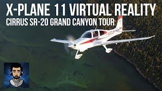 X-Plane 11 VR + Vatsim | VFR Flying around Vegas + Grand Canyon