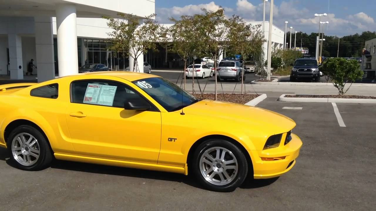 Used 2005 ford mustang for sale in tampa bay florida call for price specs review