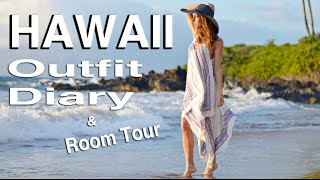 Hawaii Vacation Outfits & Room Tour!
