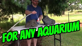 DONT Skip This Step Before putting Rocks In your Aquarium