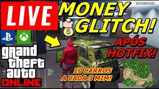 *AO VİVO*GTA 5 ONLİNE MONEY GLİTCH EASY(XBOX/PS4)