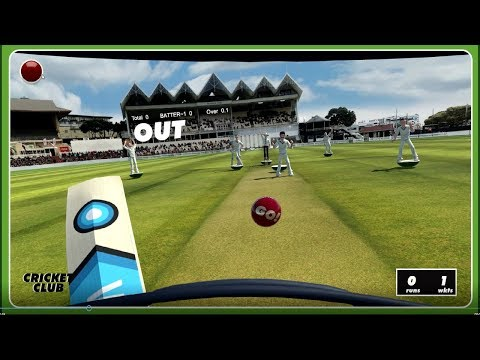 Cricket Club - VR Cricket Game For HTC Vive