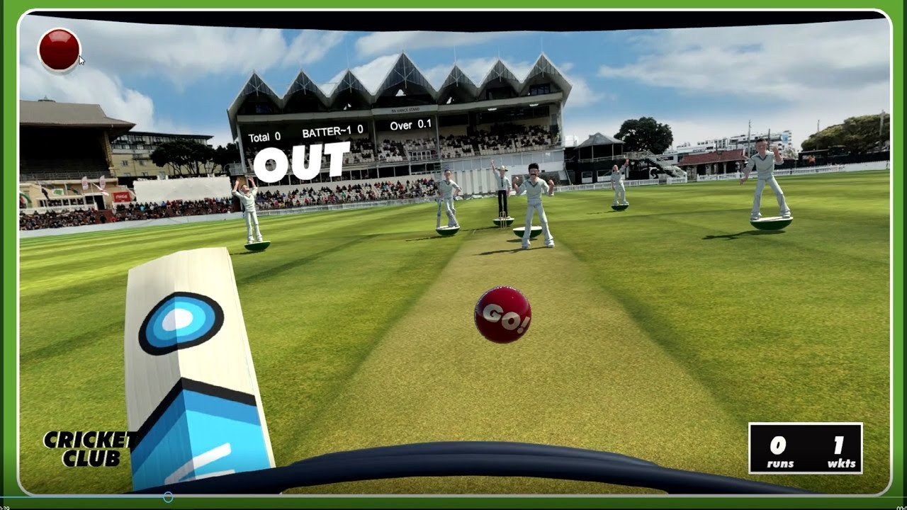 Cricket Club - VR Cricket game for HTC Vive - YouTube