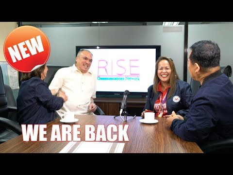 Rise Network News presents the PNOC CEO and COO with Dr. Chelsa Tomaquin