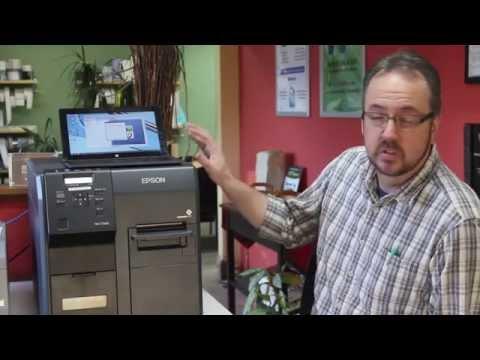 Epson TM-C3400 colour label & wristband printer   FunnyCat TV