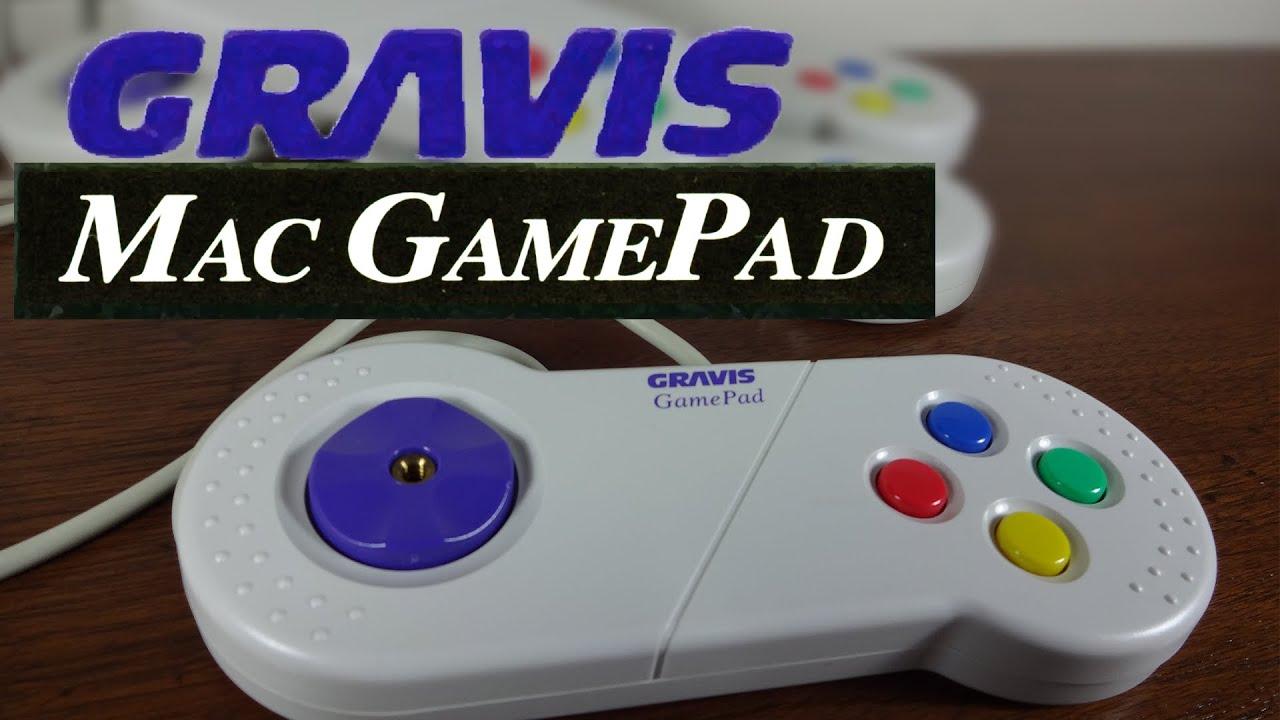 The Gravis Mac Gamepad Review Classic Mac Games Youtube