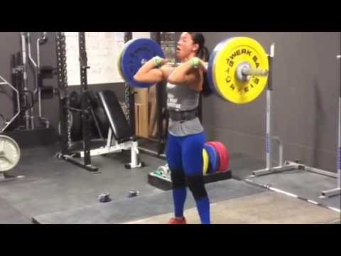 Chyna Clean Triple 87kg at 65