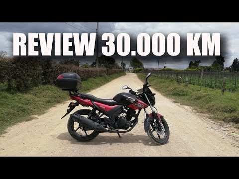 Review 30000 km Yamaha SZRR