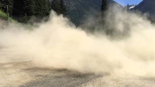 Camaro stirring up a bit of dust