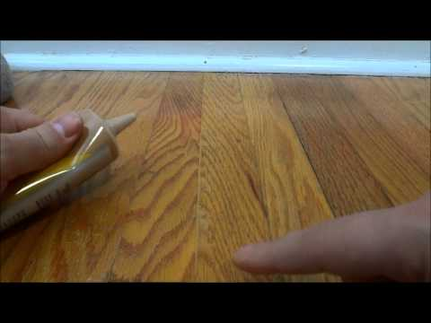 How To Fill In Gaps Between Hardwood Flooring With Wood Filler