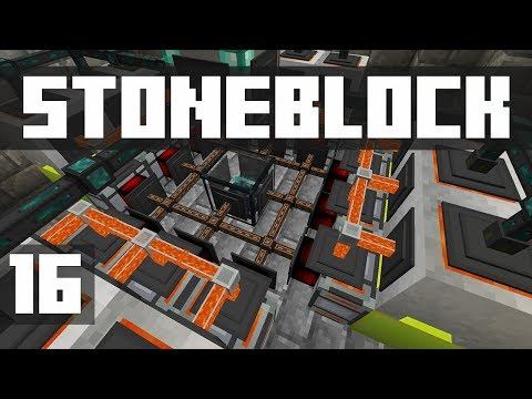StoneBlock - Ep. 16: MASSIVE POWER UPGRADE! (Modded Minecraft 1.12.2)