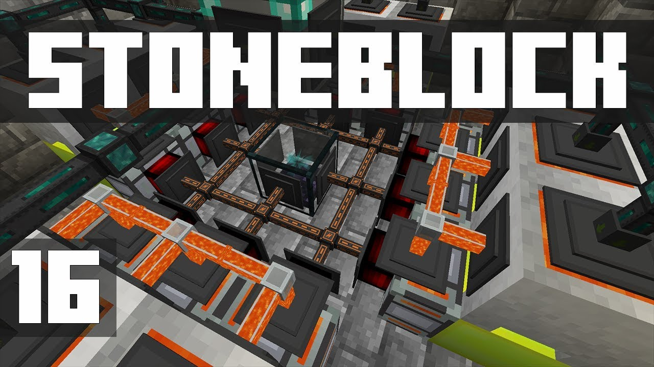 StoneBlock - Ep  16: MASSIVE POWER UPGRADE! (Modded Minecraft 1 12 2)    iJevin