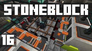 StoneBlock - Ep. 16: MASSIVE POWER UPGRADE! (Modded Minecraft 1.12.2)