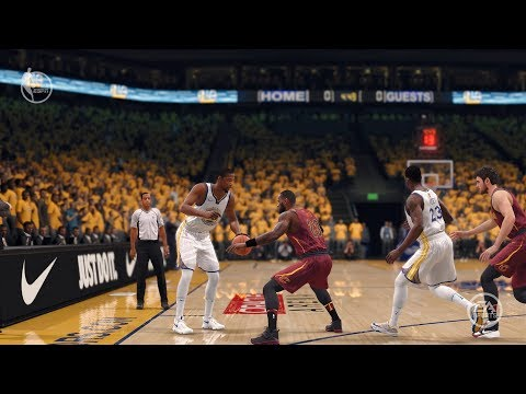 NBA LIVE 18 Patch 1.04 - New Animations + More Responsive + Better Visuals! Cavs vs Warriors - HD