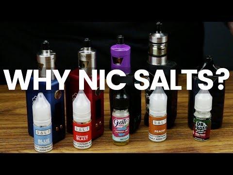 Why Choose To Vape Nic Salts?