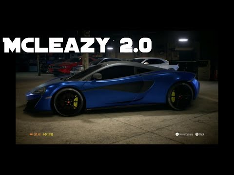 Creating Tallguycarreviews McLaren 570 in Need For Speed!!