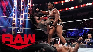Big E vs. Roman Reigns vs. Bobby Lashley: Raw, Sept. 20, 2021