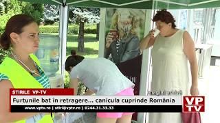 Furtunile bat în retragere    canicula cuprinde România