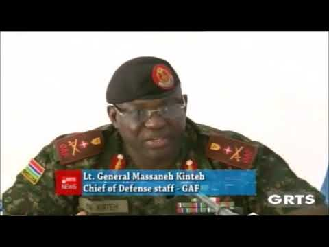Exclusive Press Conference With Gambia's CDS Massaneh Kinteh On The Current Security Situation