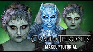 GAME OF THRONES | CHILDREN OF THE FOREST HALLOWEEN COSTUME MAKEUP TUTORIAL